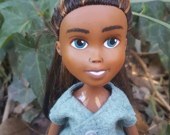 Repainted Doll, Upcycled Bratz doll, OOAK