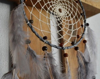 Gray mouse dream-catcher / Grey Dreamcatcher / wall art / wall art