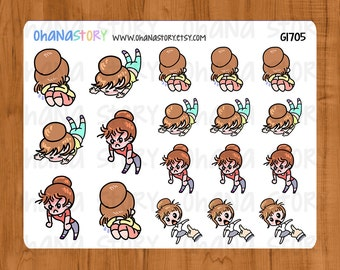 Janine has a Bad Day Planner Stickers (G1705)