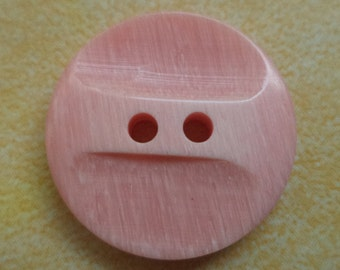 14 pink buttons 18mm (6705) salmon pink