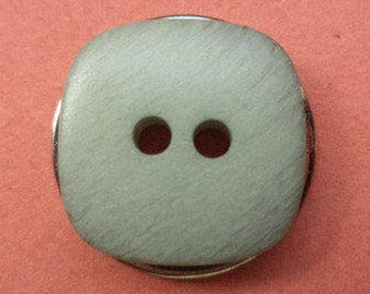 13 small buttons 14mm blue grey (1467)