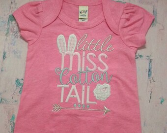 Little Miss Cotton Tail Romper