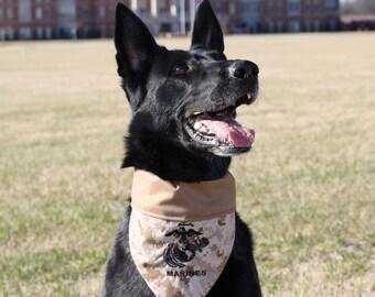 Dog Bandana US Marine Corps