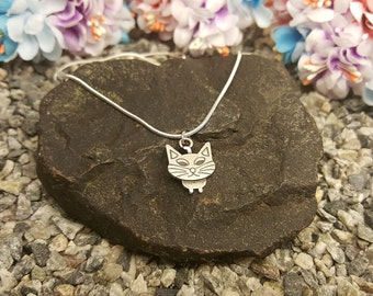 Tiny Cat Necklace, Cat Jewelry, Cat Lover Gift, Girls Necklace, Kitty Jewelry, Birthday Gift, Pet Jewelry, Personalized Cat Necklace, Cat