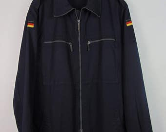 Vintage Navy Military Shirt/Jacket