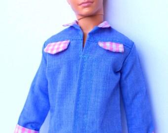 Barbie clothes, Ken doll clothes - Ken doll shirt