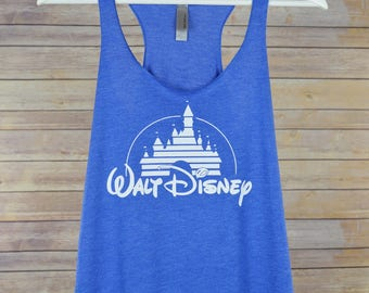 Women's Disney Racerback Tank: 9 Colors Available- Walt Disney Shirt for Women