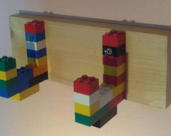 Kids Lego coat rack