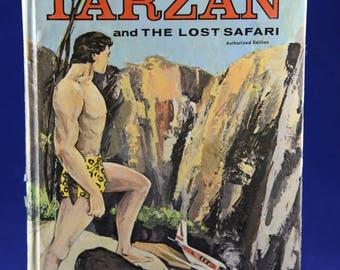 Tarzan and The Lost Safari Edgar Rice Burroughs, Whitman Publishing, Jungle Book, The Return of Tarzan, Adventure Book, Cartoon Books