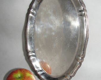 Germany silverplate TRAY BMF serving tray antique pottery elegant tray PLATE dish silver plated flatware