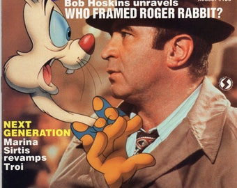starlog who framed roger rabbit magazine 133 august 1988 issue - Who Framed Roger Rabbit Soundtrack