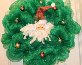 Old Saint Nick Wreath
