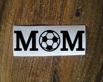 Soccer Mom Decal Sticker / Laptop Decal Sticker / Car Window Decal Sticker / Mother Yeti Decal Sticker / Sports Mom Decal / Soccer Sticker