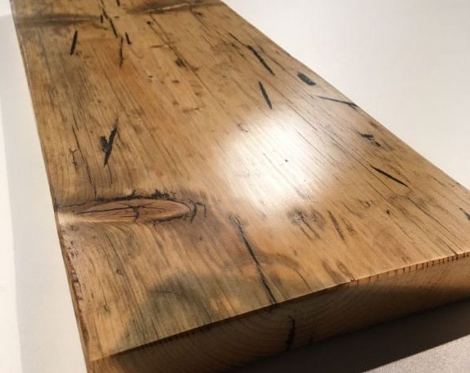 Reclaimed wood shelves / Wall shelves / Book shelves / FREE UK SHIPPING / all made from genuine reclaimed scaffold boards