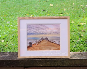Framed Print 8x10 || Malibu Beach Pier, California