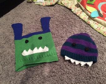 Custom Monster Hats