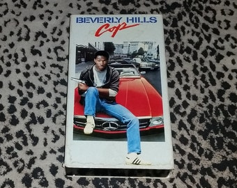 Beverly Hills Cop [VHS] Eddie Murphy Comedy Vhs 80s Movie Kitsch Comedy 80s Vintage Vhs Retro Comedy 80s Vhs Retro