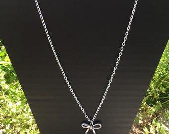 """Necklace """"Knot Ribbon"""""""