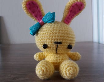 Knitted bunny - аmigurumi