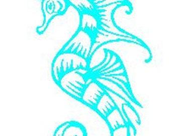 Seahorse Decal #2.