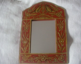 Beautiful VINTAGE ETHNIC MIRROR