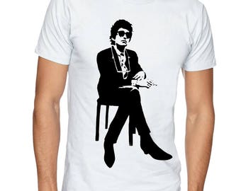 BOB DYLAN t-shirt. Music t shirt. Unisex tshirt, Music tee, apparel, clothing by FET.tees.