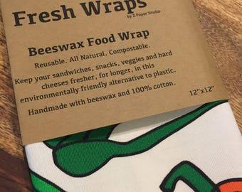 Fresh Wrap bees wax food wrap