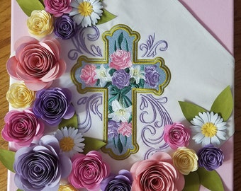 Rose and Lily Cross