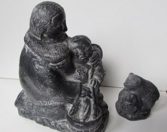 WOLF brand Inuit carvings