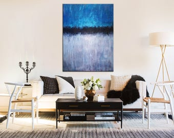 Original Painting On Canvas, Living Room Wall Art, Original Acrylic  Painting, Minimal Art