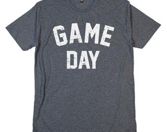 GAME DAY T Shirt Tailgate Party Tailgating Beer Stadium Parking Lot Halftime College Football Baseball Soccer Hockey Basketball Gameday Tee