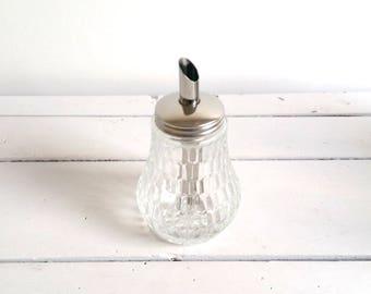 Vintage glass sugar castor (2)