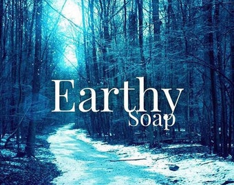 Earthy Scented Bar Soap