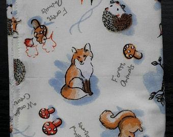 CREATE YOUR OWN; Burp Cloth Bundle; Big Burp Cloths; Burp Rags; Baby Burp Cloths; Burp Cloth Set; Woodland Animals Burp Cloth