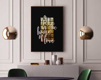 Poster A Spy in the House of Love Anaïs Nin Poster Typography Literature