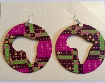 ethnic Earrings  in wax