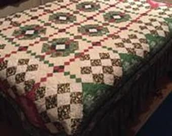 Downton Abbey holiday quilt