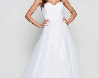 Romantic wedding dress/ classic wedding dress / princess wedding dress