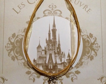 Necklace Disney Princess Rapunzel and Flynn