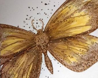 Big Butterfly Birthday card