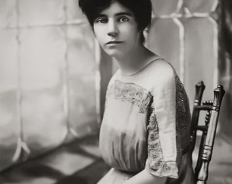 Suffragette Alice Paul Portrait, Women's March, Equal Pay, Voting Rights, Women's Equal Rights, American Suffragettes, Wall Art Decor