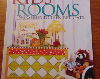 Better Homes & Garden Decorating Kids' Rooms  Nurseries to Teem Retreats 1997  OOP