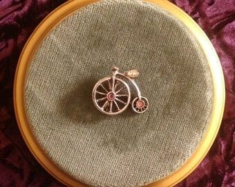 A vintage 'NAVRO' 1970s/80s Penny Farthing Bicycle Brooch/Pin ....(Please 'Favourite' me)