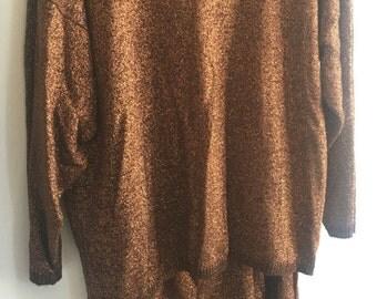 Vintage 70's sweater & Skirt