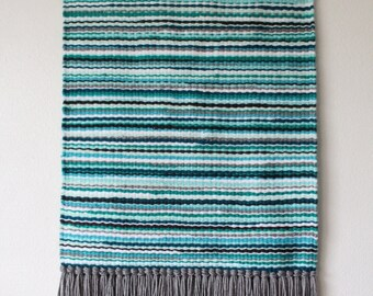 Mixture of Colors Woven Wall Hanging