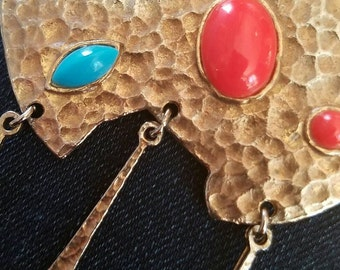Unusual Vintage Chunky Pendant