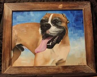 Custom Oil Paintings on canvas or wood panel
