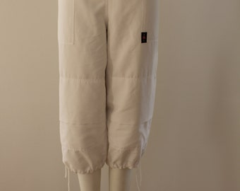 3/4 Length Shorts (White)