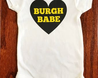 Burgh Babe Onesie