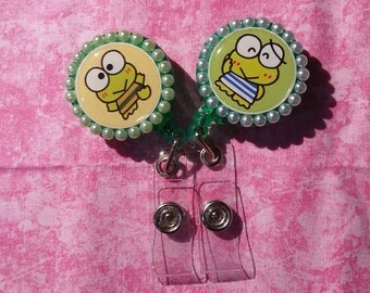 Keroppi Badge Reel (set of 2)